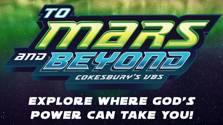 To Mars and Beyond VBS logo image