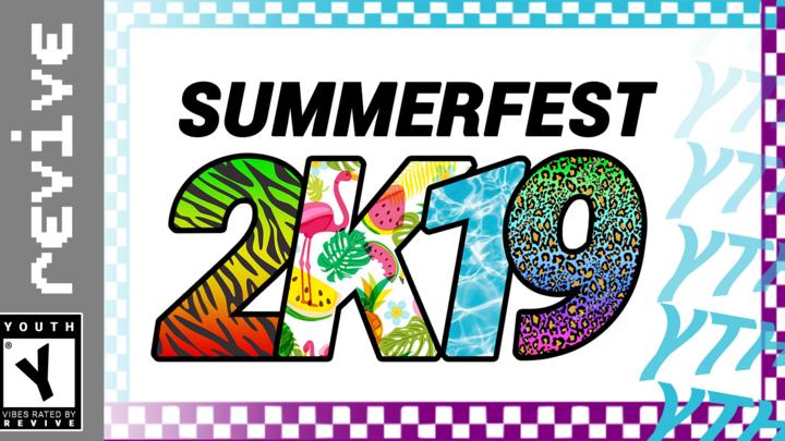 SUMMERFEST 2K19 logo image