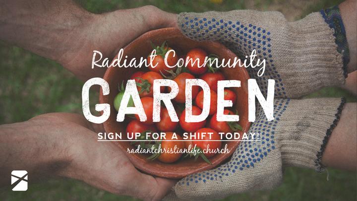Community Garden - Prep Day 1 logo image