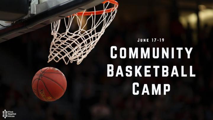 Free Community Basketball Camp logo image