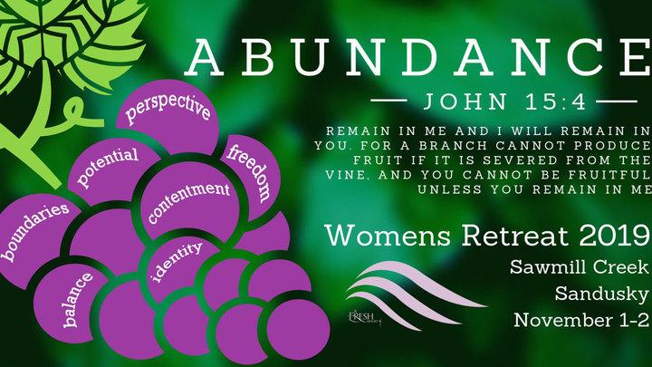 Womens Retreat 2019 logo image