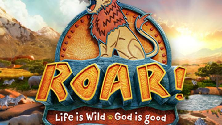 Roar - VBS 2019 logo image