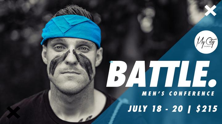 BATTLE. Men's Conference logo image