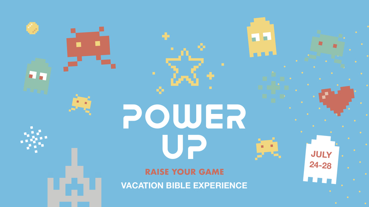 POWER UP Vacation Bible Experience logo image