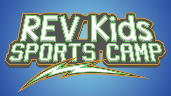 REV Kids Sports Camp 2019 logo image
