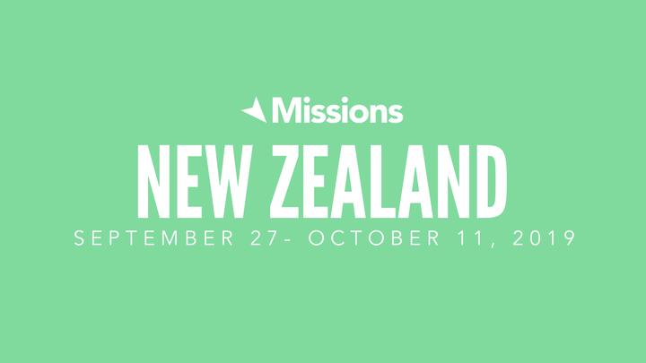 New Zealand Missions Trip logo image