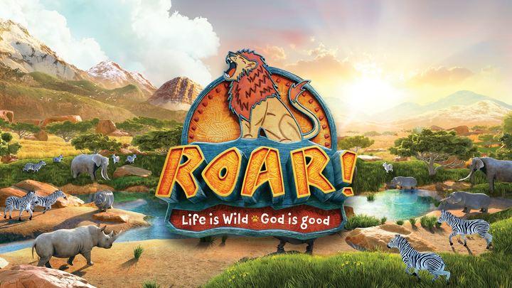ROAR Summer Blast VBS 2019 logo image