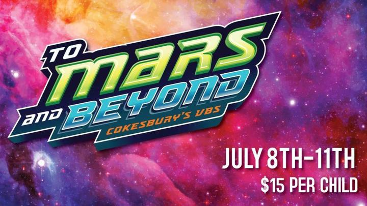 To Mars & Beyond VBS logo image