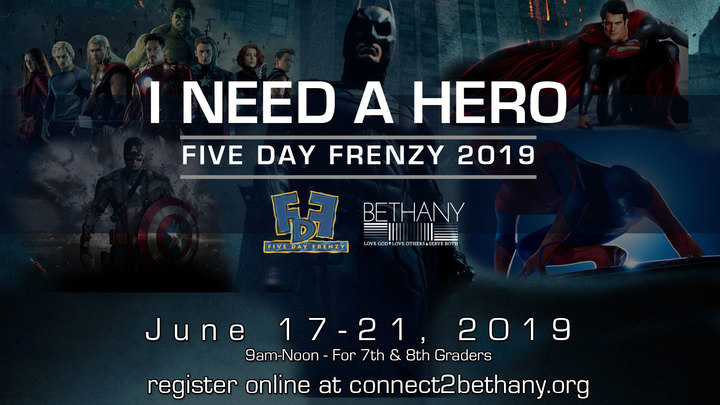 JR HI Five Day Frenzy 2019 logo image
