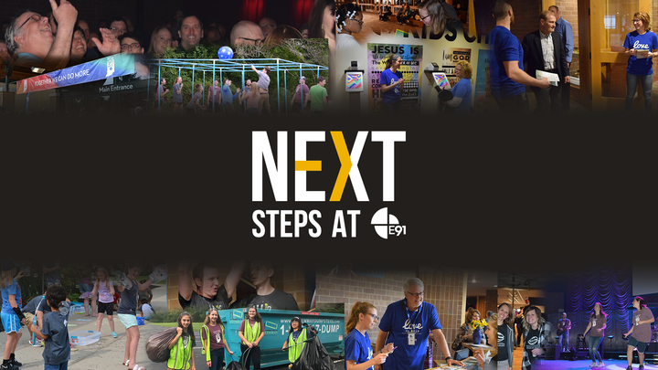 February Next Steps Classes logo image