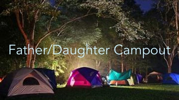 Father/Daughter Campout logo image
