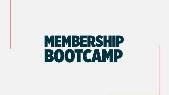 Membership Bootcamp Summer 2019 logo image