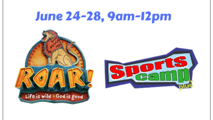VBS & Sports Camp logo image