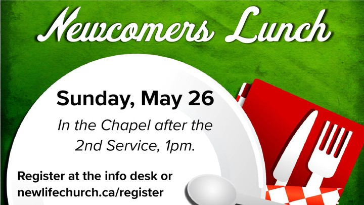 Newcomers Lunch - May 26, 2019 logo image