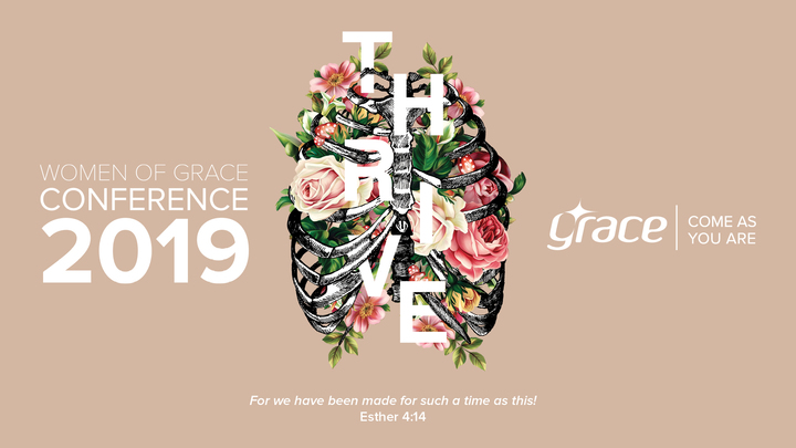 Women of Grace Conference 2019 logo image
