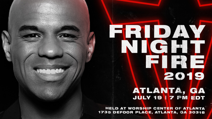 Friday Night Fire Atlanta logo image
