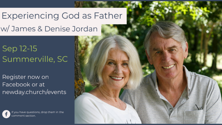 Experiencing God as Father w/ James and Denise Jordan logo image