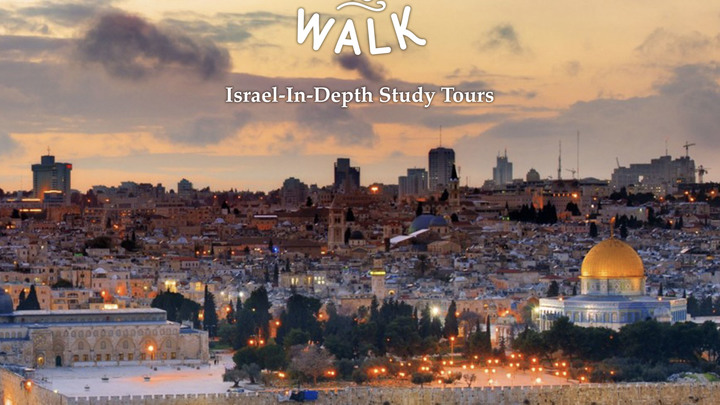 Come and Learn to Walk Israel In-Depth Study Tour, 2020 logo image