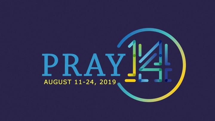 Pray 14 logo image