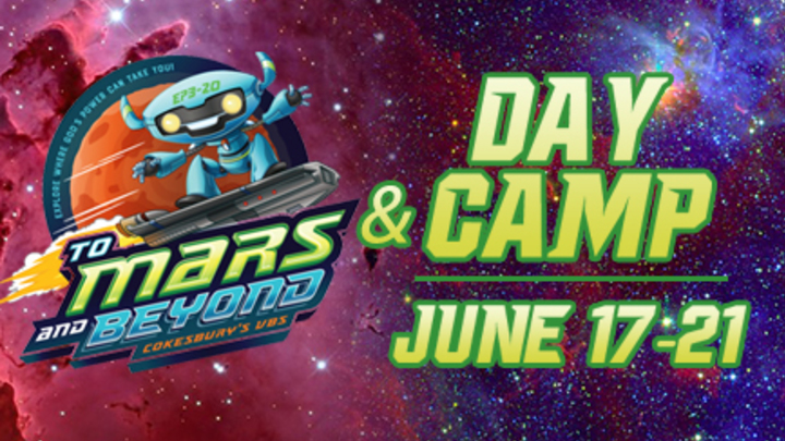 VBS/Day Camp Kids Registration logo image