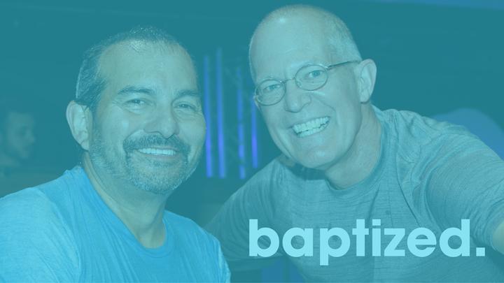 Onstage Baptism Sunday, August 4, 2019 logo image