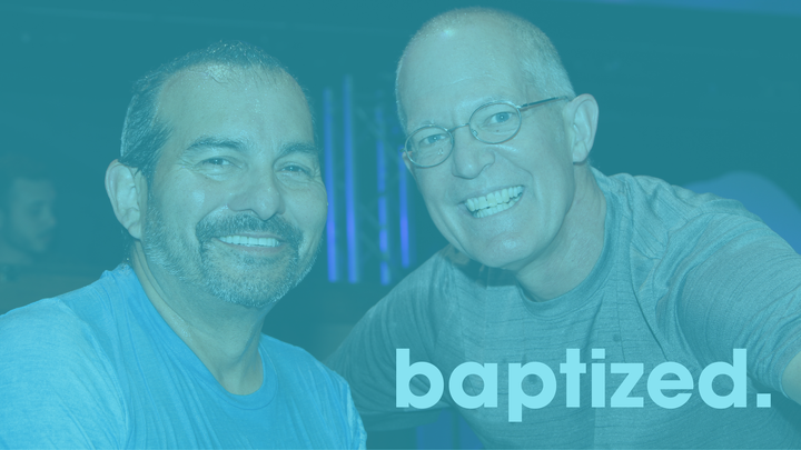 Onstage Baptism Sunday, October 6, 2019 logo image