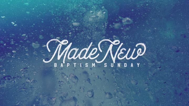 December Water Baptism logo image