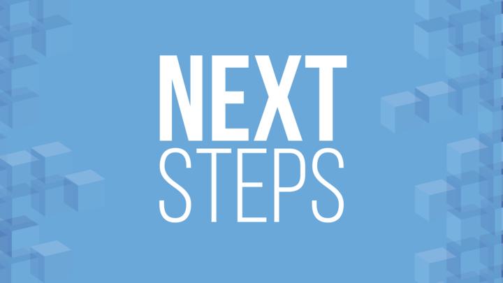 Next Steps & Membership: August logo image