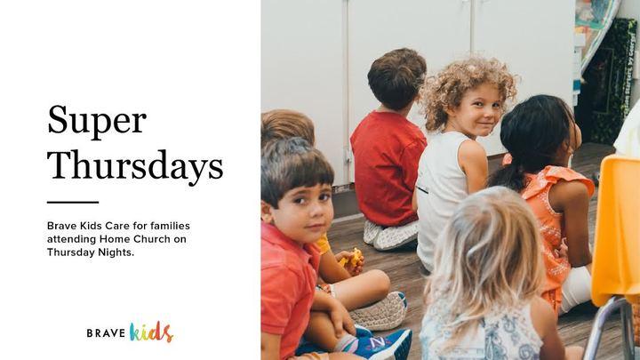 Brave Kids Super Thursday WEEKLY Registration logo image