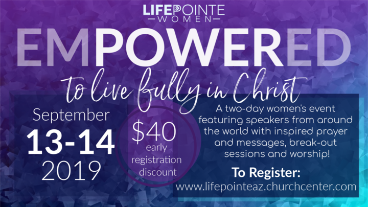 LP Women's Empowered Conference logo image