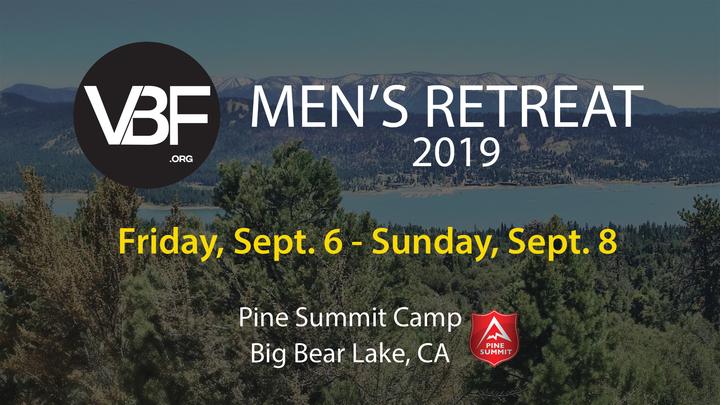 VBF Men's Retreat 2019 logo image