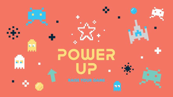 """Power Up"" Vacation Bible School logo image"