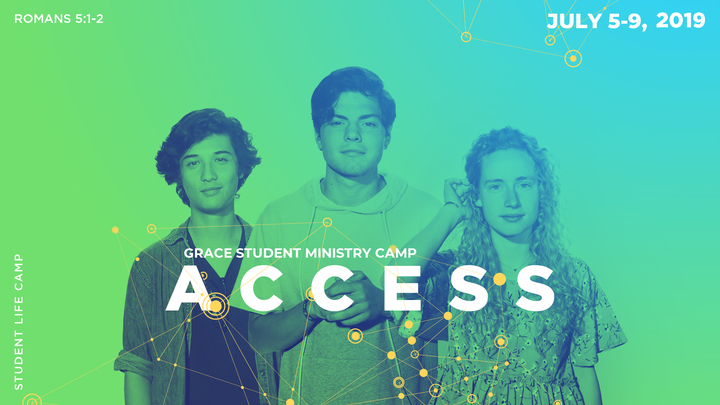 Grace Student Ministries Summer Camp 2019 logo image