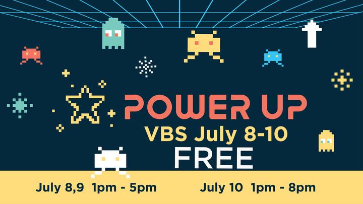 VBS 2019 | July 8-10 logo image