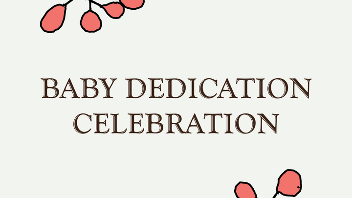 Baby Dedication Celebration logo image