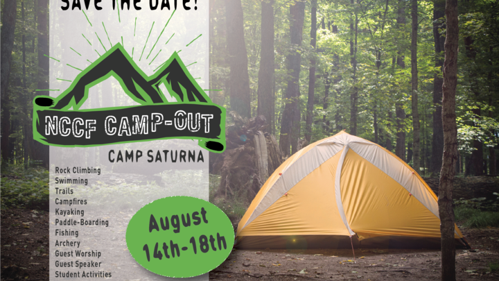 NCCF CAMP-OUT logo image