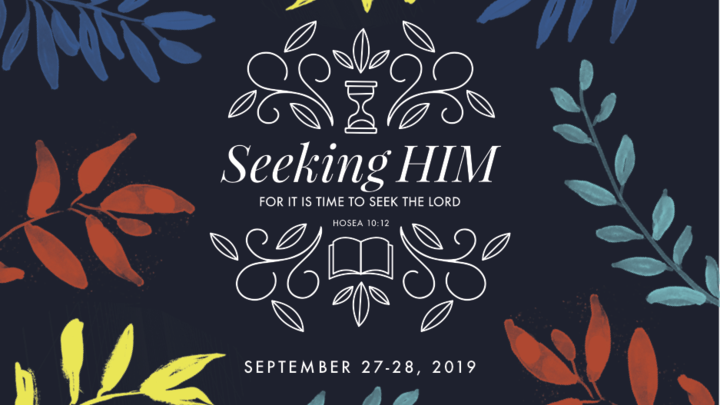 Revive '19 Women's Conference: Seeking HIM logo image