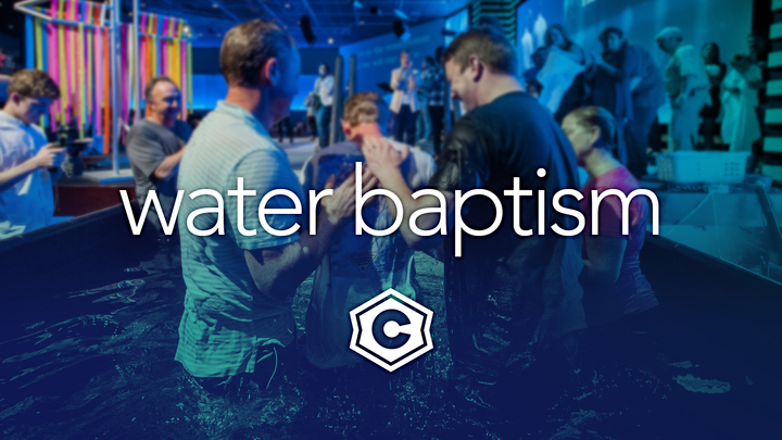 Water Baptism (August 2019) logo image