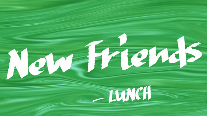 New Friends Lunch logo image