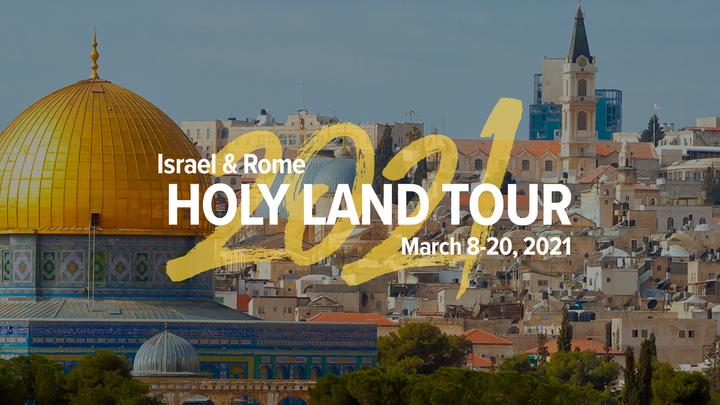 All Campus: 2021 Holy Land Tour logo image