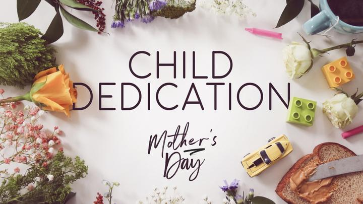 Child Dedication Sunday logo image