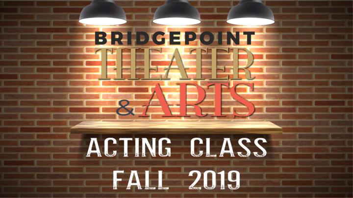 Acting Class Fall 2019 logo image