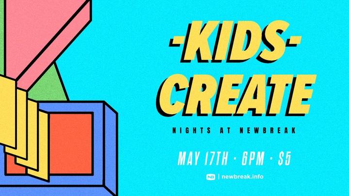 KidsCreate - Nights at Newbreak OB [September] logo image