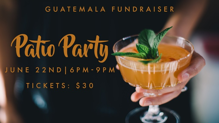 Patio Party - Guatemala Fundraiser logo image