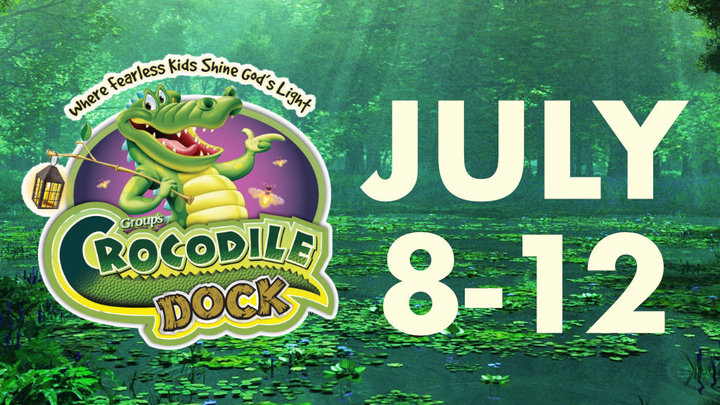 RiverCross Camp 1: Crocodile Dock! July 8-12, 9am-12pm (Age 3 to Grade 5) logo image