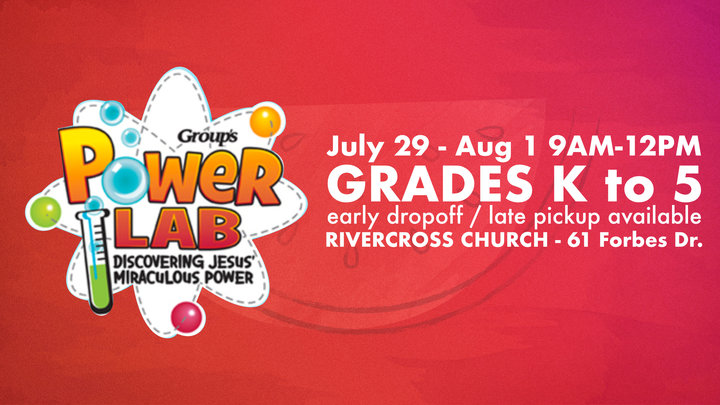 RiverCross Camp 3 - POWER LAB : July 29-Aug 1 9am-12pm (grades K-5) logo image