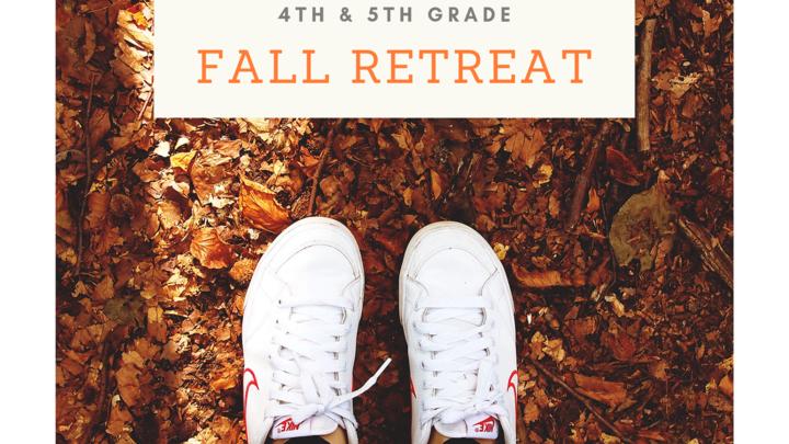 4th & 5th Grade Fall Retreat at Glisson logo image
