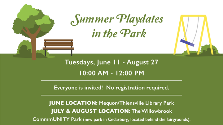 Summer Playdates in the Park logo image