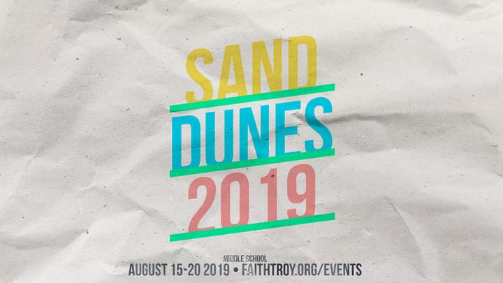Middle School Sand Dunes Trip 2019 logo image