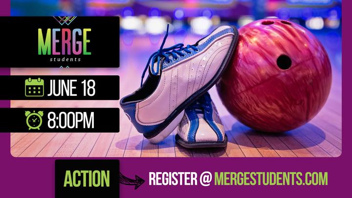 MERGE Students: Bowling Night logo image